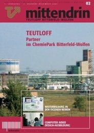 mittendrin 02/2001 - Teutloff Bildungszentrum Bitterfeld - Wolfen ...