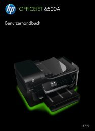 HP Officejet 6500A (E710) e-All-in-One series User Guide – DEWW