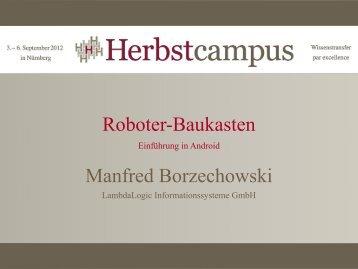 Roboter-Baukasten - Einführung in Android