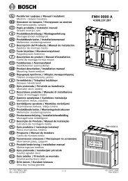 FMH 0000 A-Leaflet(A3) - Bosch Security Systems