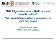 FMH Allgemeine Innere Medizin - congress-info.ch | Home
