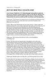 Artikel in VCU Nr - Lassalle-Institut