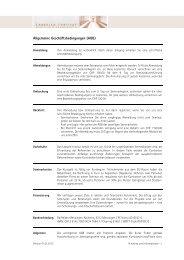AGB und Hinweise/Informationen - Lassalle-Institut