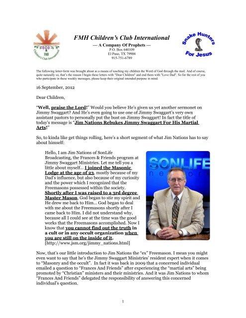 FMH Children's Club International - Fmh-child org