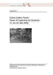 Projektbericht 2009 - Lassalle-Institut
