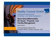 und Facility Management - Reality Consult