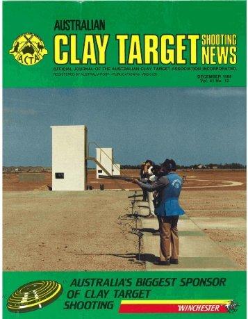 december - Australian Clay Target Association