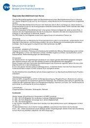 Kursbeschrieb als PDF - SVA