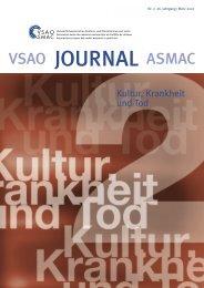PDF-Ansicht öffnen (3 mb) - VSAO Journal