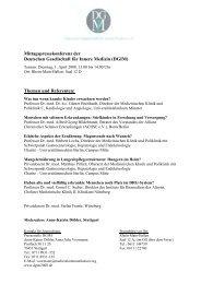 Mittagspressekonferenz der Deutschen Gesellschaft für Innere ...