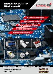 Gesamtkatalog 2012 - Elektrotechnik Schabus