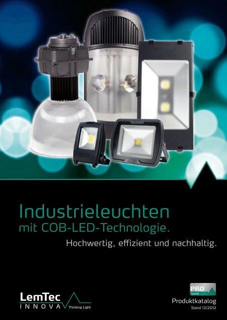 Produktkatalog LED-Beleuchtung - LemTec Innova
