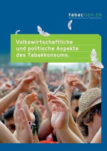Volkswirtschaftliche und politische Aspekte - Expertengruppe ...