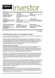 Capital Investor vom 05.06.2009