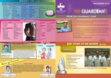 October 2012 - Guardian Lifecare