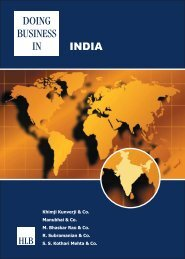 Doing Business in India - HLB International