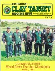 SHOOTING HEWS AUSTRALIAN - Australian Clay Target Association