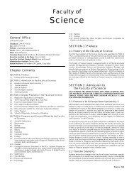 36 Cal Science07.fm - University of Manitoba