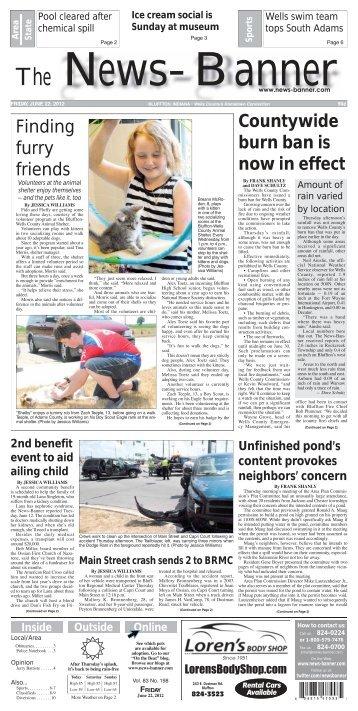 the news-banner - Bluffton News Banner