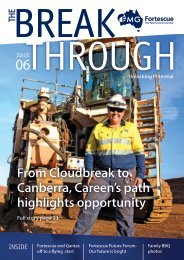 Unlocking Potential - Fortescue Metals Group Ltd