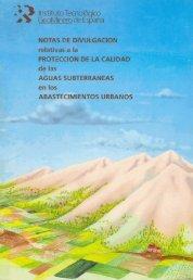 Ver publicación - Hidrogeología y aguas subterráneas