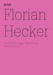 Nº102 - Florian Hecker - Chimerization - Documenta