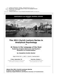 Sept 30 & Oct 1, Zurich Lecture Series: At Home in the ... - isapzurich