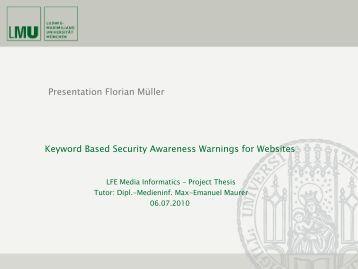 It security awareness presentation pdf