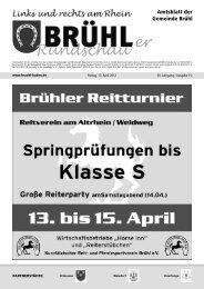 Bruehl gesamt kw 15 - Gemeinde Brühl