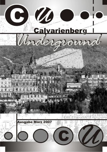 Schülerzeitung 2007_neu - Website des Gymnasiums Calvarienberg