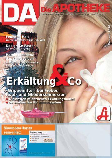 Immunstimulanzien bei Infekten der oberen Atemwege
