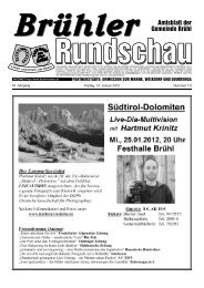 Bruehl gesamt kw 02 - Gemeinde Brühl