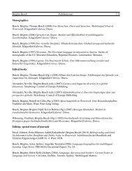 Brigitta Busch Publikationen 1/9 Monographies Busch, Brigitta ...