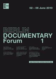 DOCUMENTARY Forum 1 - Haus der Kulturen der Welt