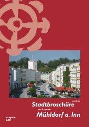 Stadtbroschüre (8,12 Mb) - Stadt Mühldorf am Inn