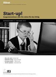 Start-up! - Schweizer Monat