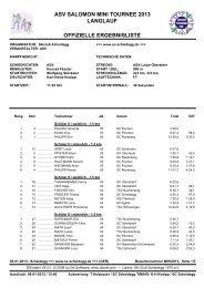 Ergebnisliste - Ski-Club Scheidegg 1970 e. V.