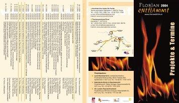 Tourismus-Infos Terminkalender - Florian 2004