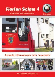 Florian Solms 4 - Freiwillige Feuerwehr Oberbiel