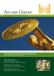 Sommerakademie Herrenhausen - Freunde der Herrenhäuser ...