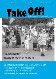 Promenadefest - Tradition oder Erinnerung? - Kulturzentrum ...
