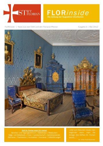 FLORinside | News aus dem Stift und den Florianer ... - Stift St. Florian