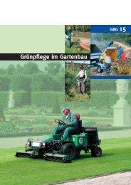 Grünpflege im Gartenbau - GBG 15 - LSV