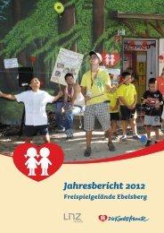 Jahresbericht 2012 - Kinderfreunde