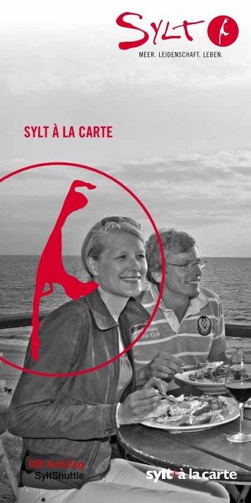 SYLT À LA CARTE - Seepferdchen ApartHotel Sylt