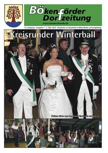 können Sie sich die aktuelle Ausgabe als - in Bökenförde!