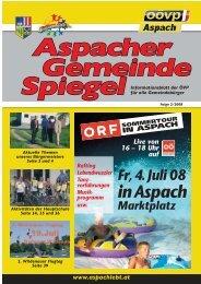inAspach - ÖVP Aspach [Willkommen]