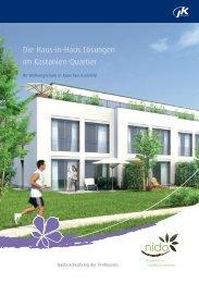 Die Haus-in-Haus Lösungen im Kastanien-Quartier - JK Wohnbau