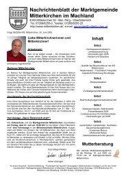 Juni 2005 - Mitterkirchen im Machland