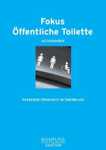 Fokus Öffentliche Toilette - Kuhfuss